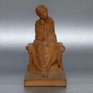 Gurlitt Fritz,  Galerie Berlin Ca.  1886,  Tanagra Figur Nr.  Xii,  äusserst Selten Bild