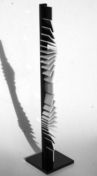 Op Art,  Objekt,  Konkrete Kunst,  Acrylglas,  Handsigniert,  H.  Heinecke,  C19 Bild