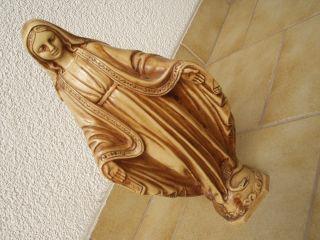 Sehr Schöne Massive Hl.  Maria In Perfektem Bild