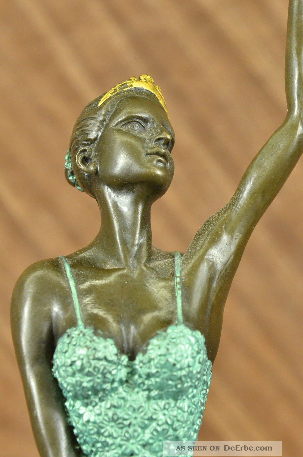 Bronzeplastik Schlange Zufriedenheit ist wunderschön Bronze sculpture snake