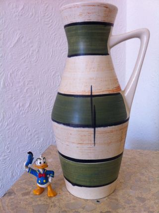 60 ' S Wgp West German Pottery 60er Jahre Bay Keramik Vase 271 - 25 (133) Bild