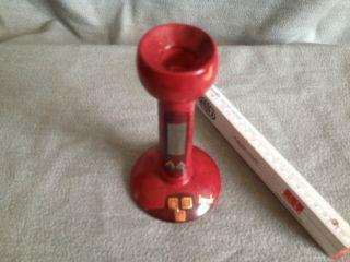 Kmk Kerzenleuchter Aus Serie Rubin Ca.  1997 Keramik Manufaktur Kupfermühle Bild
