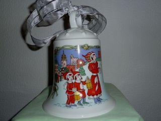 Hutschenreuther Weihnachtsglocke 96 Motiv: