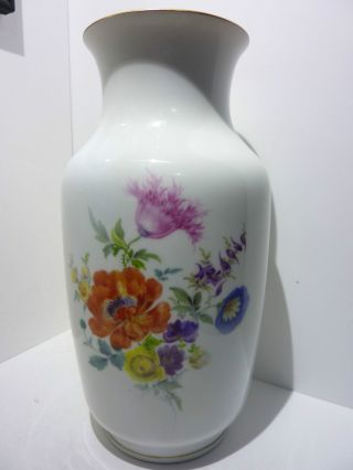 Meissen Große Vase Blumenvase Schwertermarke Bild