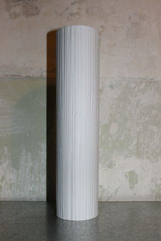 Große 30,  5 Cm Rosenthal Bisque Porzellan Vase