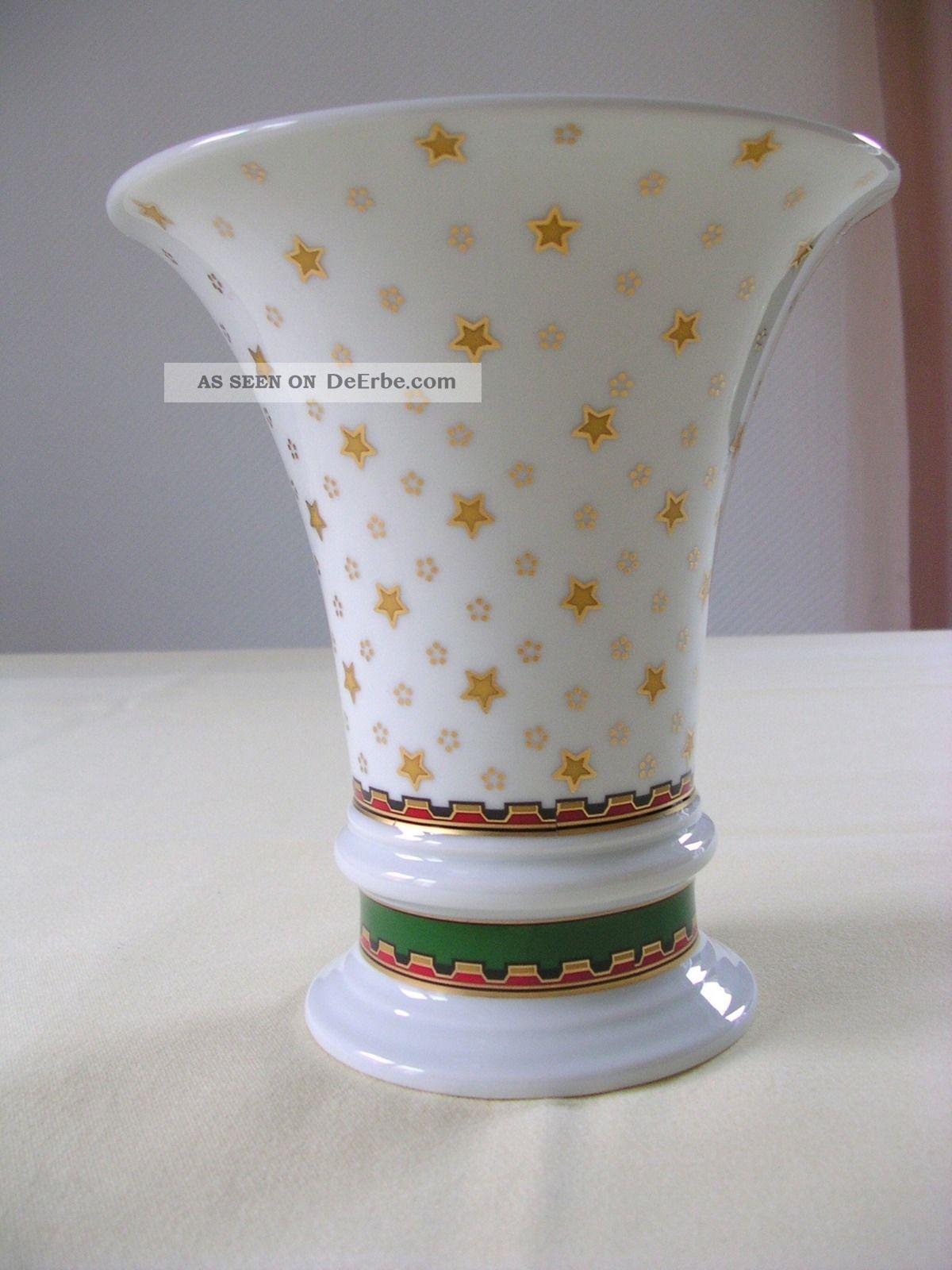 Fürstenberg Vase Blumenvase Porzellan Nach Marke & Herkunft Bild