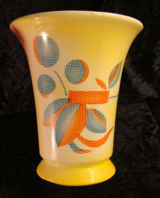 Originelle Art - Deco - Vase Spritzdekor Bild