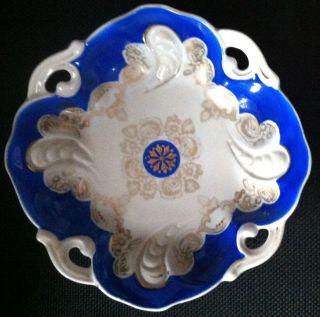 Antike Porzellanschale Prunkschale Von Oskar Schlegelmich Bild