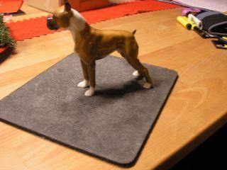 Boxer,  Porzellanfigur,  Hundefigur Boxer Figure Figura,  Hutschenreuther Boxer Figur Bild