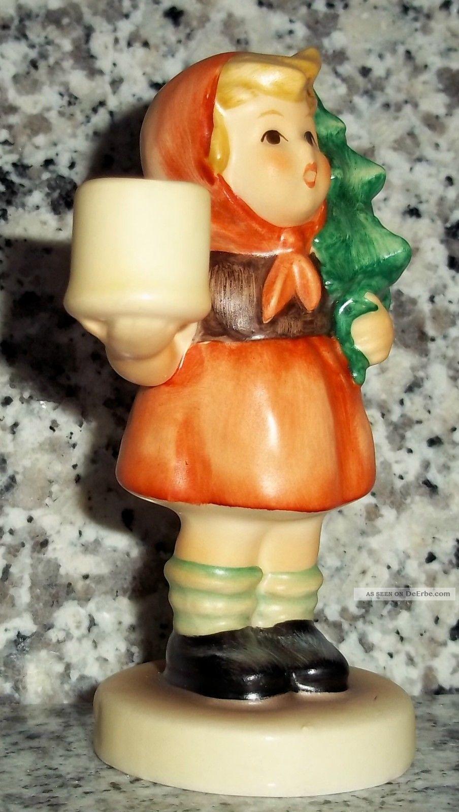 Hummel figur hum 116 m dchen mit tannenbaum fm 6 kerzenhalter candle holder - Tannenbaum kerzenhalter ...