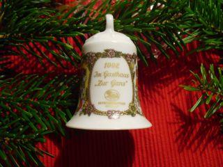 Topzustand 1992 Hutschenreuther Weihnachtsglocke