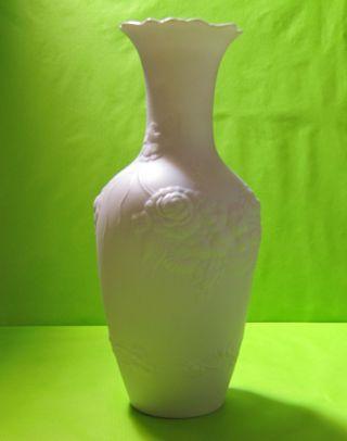 Blumen Porzellan - Vase,  Kaiser Germany Bild
