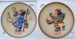 Hummel Jahresteller Sammlung 1972 Bis 1985 Bild