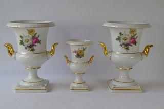 3 Prachtvasen Porzellan Kaiser 3 Jarrones 3 Vases Porcelain 3 Vases Porcelaine Bild