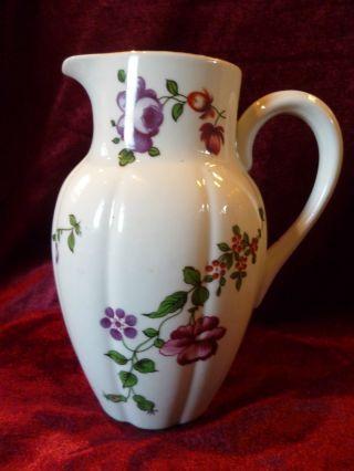 Bauer & Pfeiffer Jugendstil Toller Krug Wasserkrug Milchkrug Blüten Blumenranken Bild