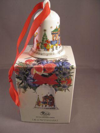 Hutschenreuther Weihnachtsglocke Porzellanglocke Mittenwald 97 In Ovp Limitiert Bild