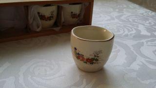 Alte,  Hochwertige,  Chinesische Teetassen – Mit Blumenmotiv – Mit Muster – Tassen Bild