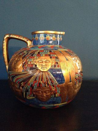 Ägyptensammlung - Ägyptische Vase Und Ovp Bild