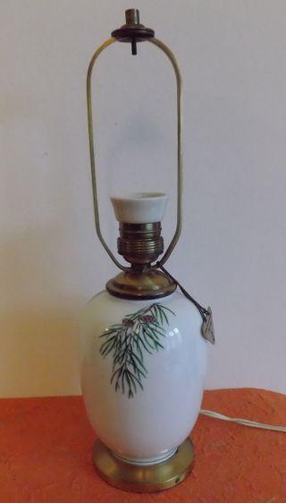 Seltene Tischlampe Augarten Wien,  Bestzustand,  Um 1950 Bild