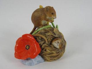 Franklin Tier Figur Aus Porzellan Handbemalt