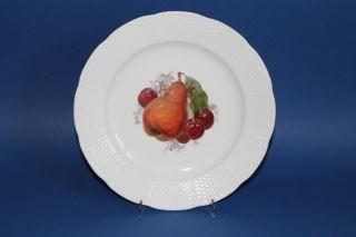 Kpm Berlin Kriegsmarke 1914 - 17 Teller Früchte Dekor Altozier D.  = Ca.  21,  5 Cm 9 Bild