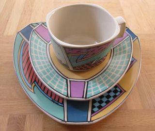 Rosenthal Design Klassiker - 3tlg Gedeck Flash One - Dorothy Hafner Bild