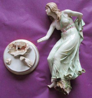 Jugendstil Figur Meissen Zum Restaurieren Bild