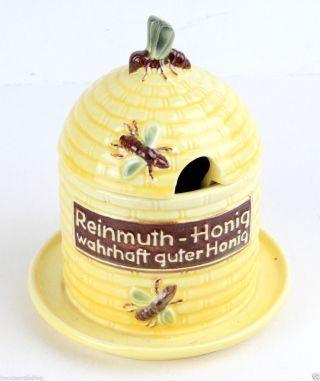 Hummel Honigtopf Werbung Reinmuth - Honig Wahrhaft Guter Honig 1957 Bild