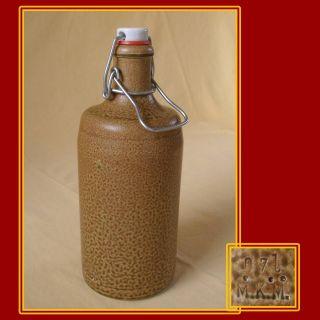 Tonflasche,  Keramikflasche,  Flasche,  Mit Bügelverschluss,  Mkm,  Porzellanverschluß,  Top Bild