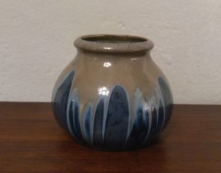 Feine Jugendstilkeramik Vase Laufglasur_20s 30s Art Nouveau Ceramic Bild
