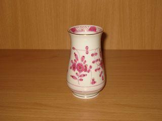 Meissen Indisch Purpur - Gold Reich 1 Vase H 10,  7 Cm 1.  Wahl 1980 Top Bild