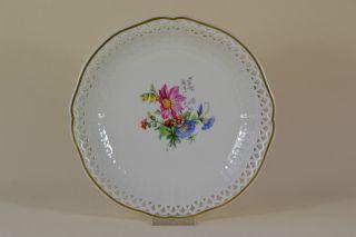 Teller Kpm Berlin Von Hand Bemalt Blumen Plate Hand - Painted Porzellan Bild