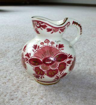 Vase - Regina Delfts Rood - Kleine Blumenvase Bild