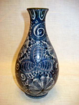 Art Deco Keramik Vase,  Wohl Ernst Huber Für Franz Schleiss Gmundner Keramik Bild