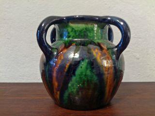 Henkelvase Jugendstil Keramik Velde Bürgel Ära_20s 30s Art Nouveau Ceramic Bild