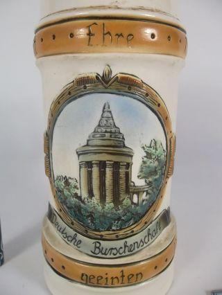 Antike Bierkrug Urburschenschaft Burschenschaftsdenkmal Ens Antique Beer Mug Bild