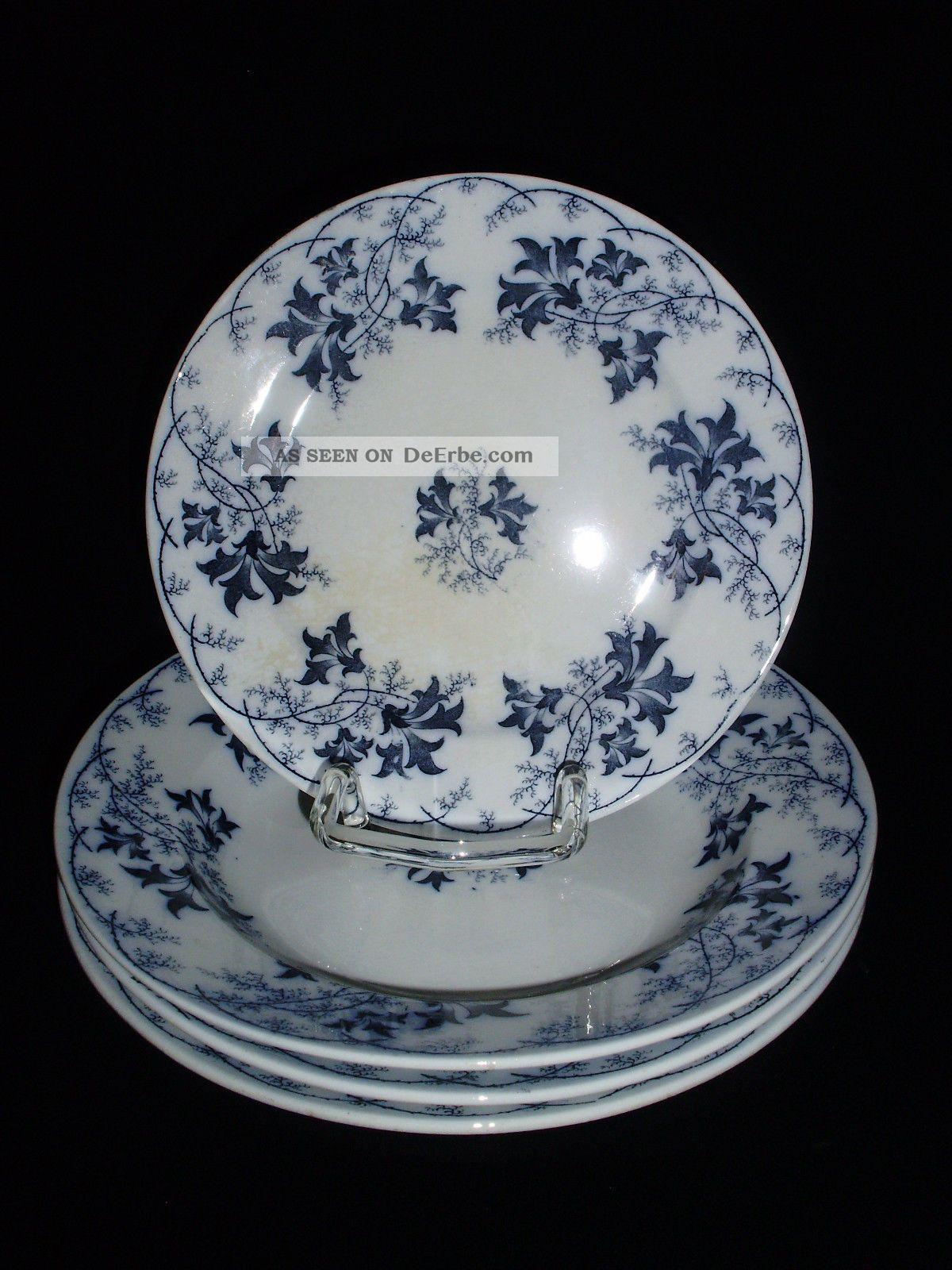 villeroy boch elbe blaue ranke 3 suppenteller 24 cm und. Black Bedroom Furniture Sets. Home Design Ideas