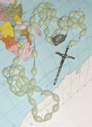 Großer Lourdes Rosenkranz Jesus Madonna Kirche Bild