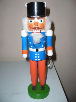 Alter Nussknacker 27 Cm Von Veb Hodrewa Rothenthal Weihnachten Bild