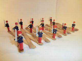Uralte Soldaten Schere Spielzeug Selten Erzgebirge Seiffen 1915 Rarität Bild