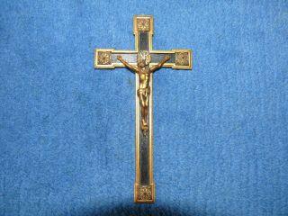 Kreuz Kreuzanhänger Reliquienkreuz Ca.  50 Jahre Alt Kruzifix Bild