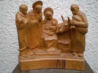 Top Große Figur Weihnachtskrippenfiguren - Darstellung Heilige Familie Bild