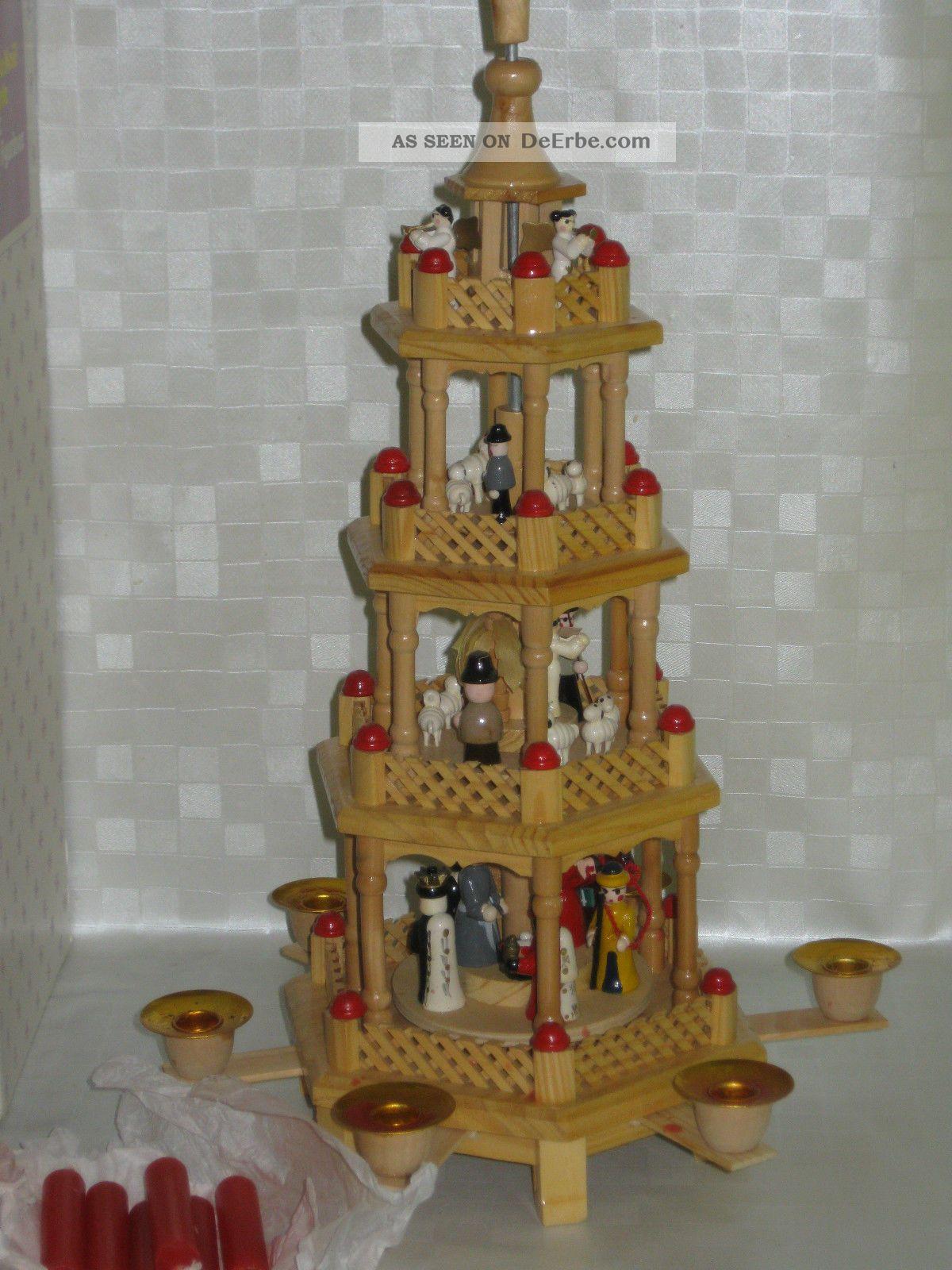 weihnachtspyramide holzpyramide etagenpyramide weihnachten. Black Bedroom Furniture Sets. Home Design Ideas