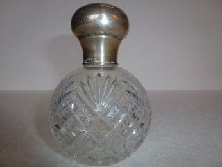 Flacon Parfüm Flacon Schweden Silber Kristall Bild