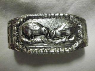 Hübscher Serviettenring - Schnepfen - Silber/lovely Napkin Ring - Silver - With Snipes Bild