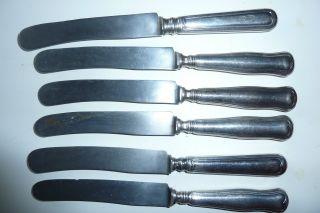 Sechs Alte Messer Bild
