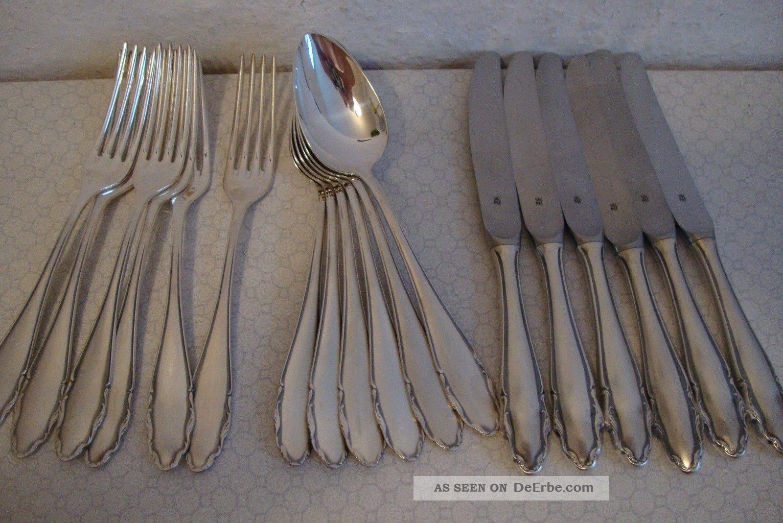 18 Teiliges Wmf Besteck Silber Auflage 90 Selten Messer Gabeln Loffel