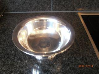 Silberschüssel Sterling Mit Gravur Bild