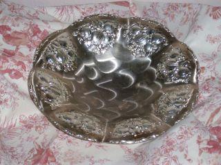 Alte Silberne Schale Obstschale Dekoschale Aus Nachlass Shabby Bild