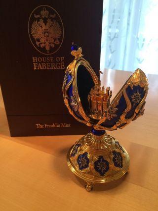Faberge Polarstern Juwelenei 925 Silber Von Franklin Diamanten Bild